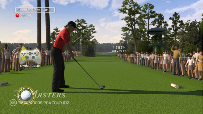 Sportspiel Tiger Woods PGA Tour 12 – The Masters: Abschlag © Electronic Arts