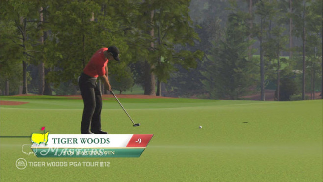 Sportspiel Tiger Woods PGA Tour 12 – The Masters: Score © Electronic Arts