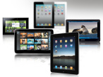 Tablet-PCs © Apple, Hanvon, WeTab, Samsung,