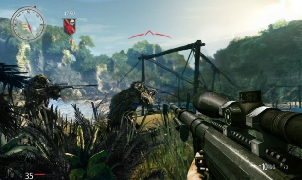 Actionspiel Sniper – Ghost Warrior: Brücke © City Interactive