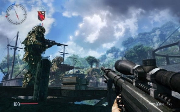 Actionspiel Sniper – Ghost Warrior: Hafen © City Interactive