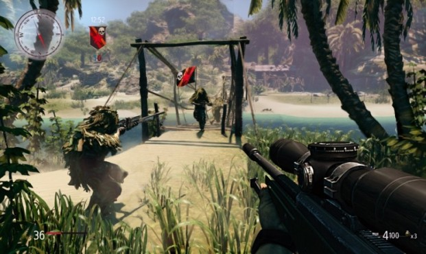 Actionspiel Sniper � Ghost Warrior: Insel © City Interactive