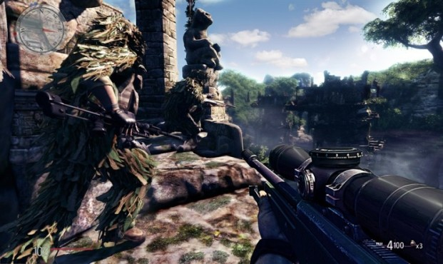 Actionspiel Sniper – Ghost Warrior: Tarnung © City Interactive