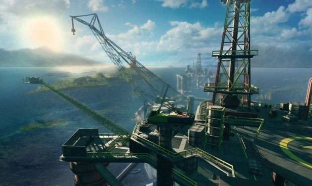 Actionspiel Sniper – Ghost Warrior: Ölbohrinsel ©City Interactive