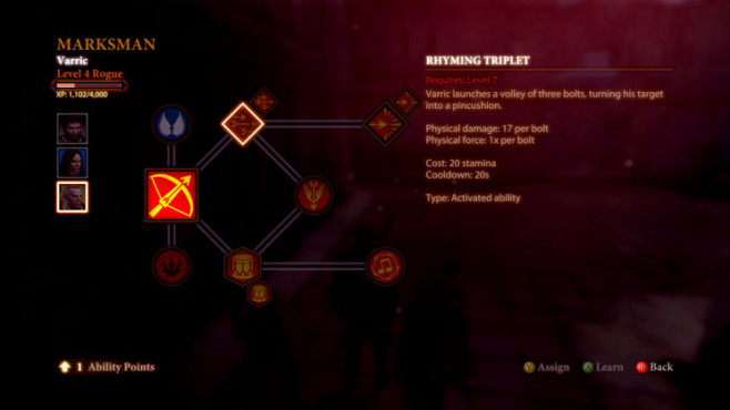 Komplettlösung Dragon Age 2: Character-Guide – Varric ©Electronic Arts