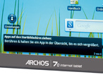 Archos 70 Internet Tablet���COMPUTER BILD