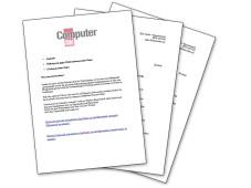 Musterbriefe zur Datenl�schung ©COMPUTER BILD