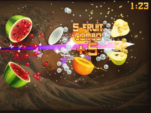 Fruit Ninja ©Halfbrick Studios