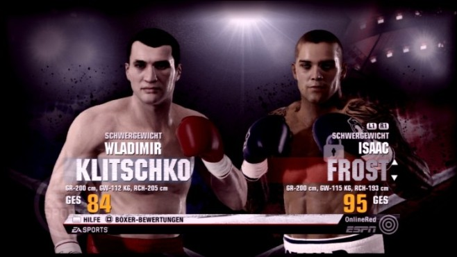 Sportspiel Fight Night Champion: Isaac Frost © Electronic Arts