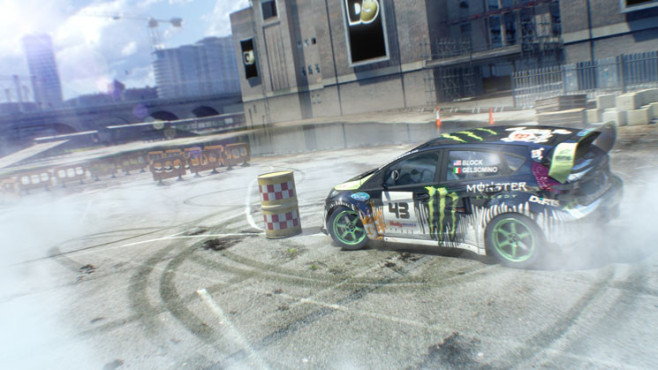 Rennspiel Dirt 3: Tonne © Codemasters