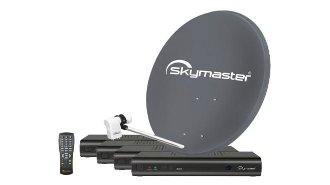 Sat-Antenne festschrauben ©Skymaster