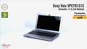 Video zum Test: Sony Vaio VPCYB1S1E