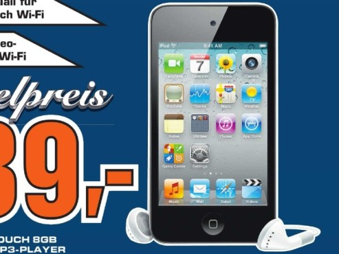 Apple iPod touch 8GB (4. Generation) © Saturn