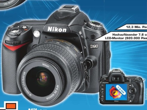 Nikon D 90 Kit inkl. AF-S DX 18-55 VR ©Saturn