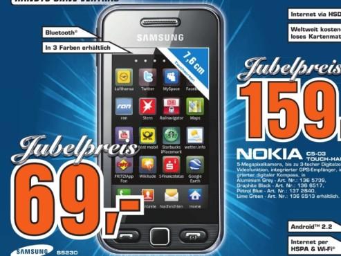 Samsung S5230 ©Saturn