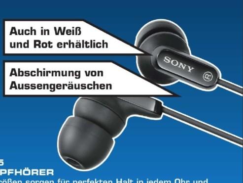 Sony MDR-EX35 ©Saturn
