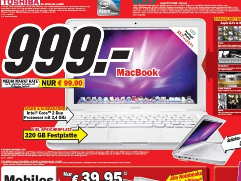 Apple MacBook MC516D/A © Media Markt