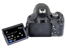 R�ckansicht Canon EOS 600D ©COMPUTER BILD