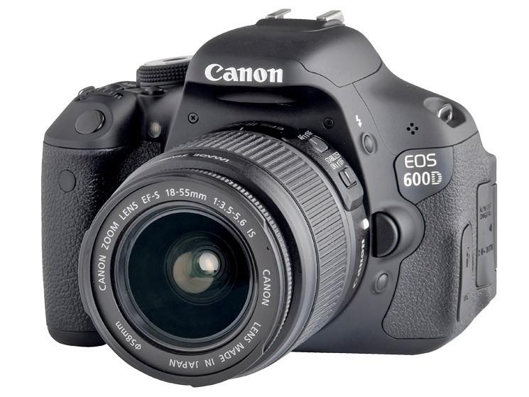 test digitale spiegelreflexkamera canon eos 600d audio video foto bild. Black Bedroom Furniture Sets. Home Design Ideas