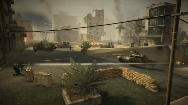 Browserspiel Battlefield Play4free: Platz © Electronic Arts