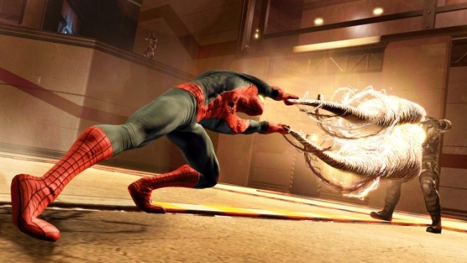 Actionspiel Spider-Man – Edge of Time: Netz © Activision