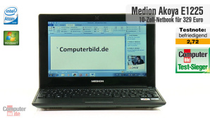 Video zum Testsieger: Medion Akoya E1225