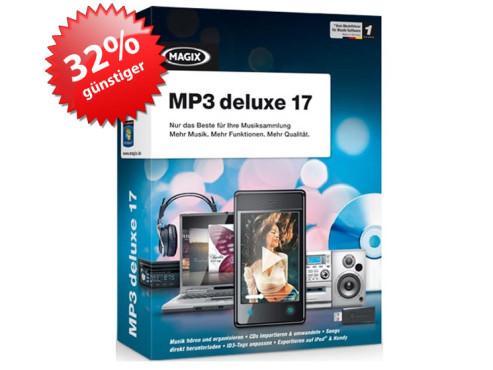 MAGIX MP3 deluxe 17 ©Magix