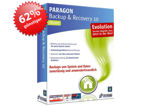 Paragon Backup & Recovery 10 Home Evolution 3 User © Paragon