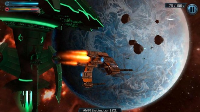Galaxy on Fire 2 © Fishlabs Entertainment