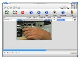 Screenshot 3 - Avi to Mpeg Converter