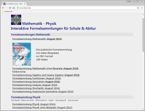 Online-Formelsammlung
