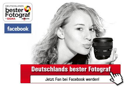 Werden Sie Facebook-Fan von Deutschlands bester Fotograf! ©Sigma, Facebook, computerbild.de
