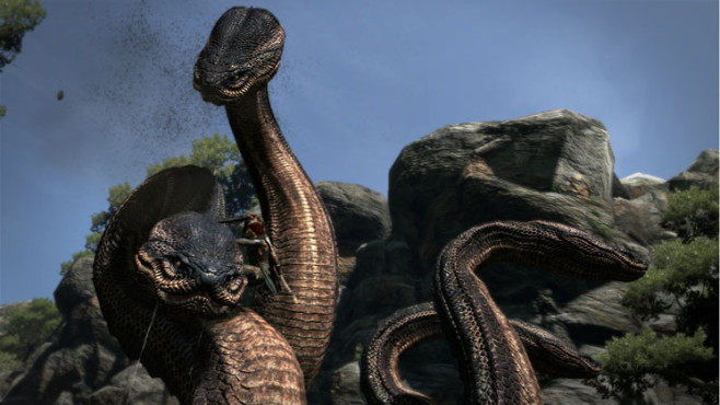 Actionspiel Dragon's Dogma: Dino © Capcom