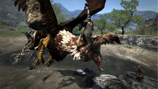 Actionspiel Dragon's Dogma: Kampf © Capcom