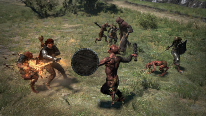 Actionspiel Dragon's Dogma: Schild © Capcom