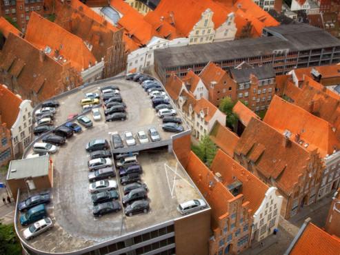 Über den Dächern von Lübeck - von: fotosepp ©Über den Dächern von Lübeck - von: fotosepp