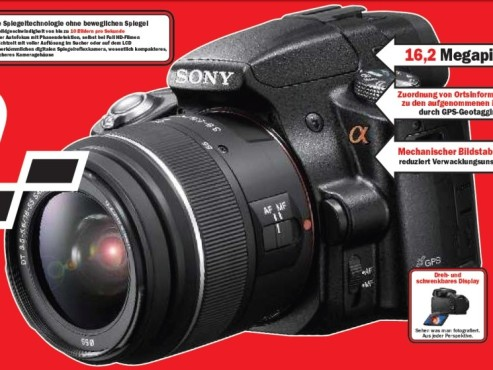 Sony SLT A55 inklusive 18–55 mm 1/3,5–5,6 © Media Markt