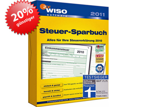 WISO Steuer Sparbuch 2011 © Buhl