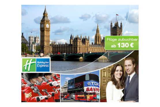 Dailydeal: Reisegutscheine f�r London-Trip © Dailydeal