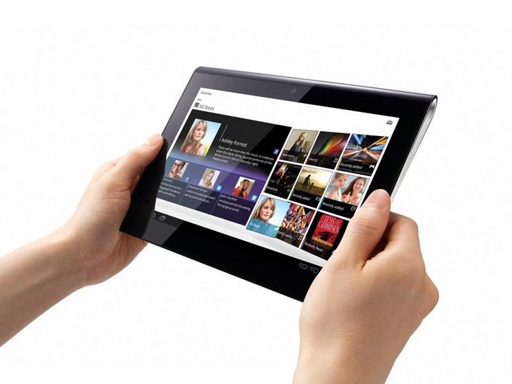 Test Sony Tablet S: Was hat das Keil-Tablet drauf ...