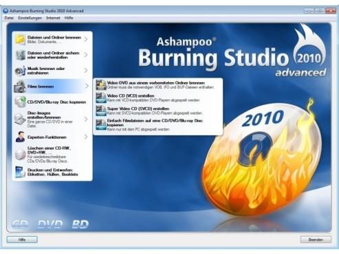 Ashampoo Burning Studio 2010 ©COMPUTER BILD