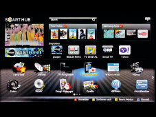Bildschirmmen� Samsung UE46D8090