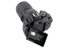 R�ckansicht Nikon D5100 ©COMPUTER BILD