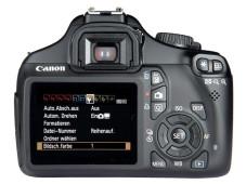 R�ckansicht Canon EOS 1100D ©COMPUTER BILD