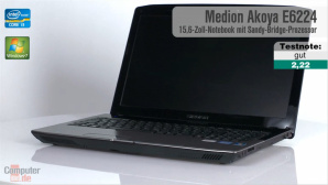 Video zum Test: Medion Akoya E6224