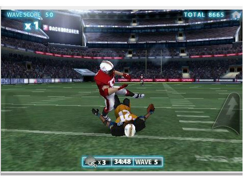 Backbreaker Football © NaturalMotionGames Ltd.