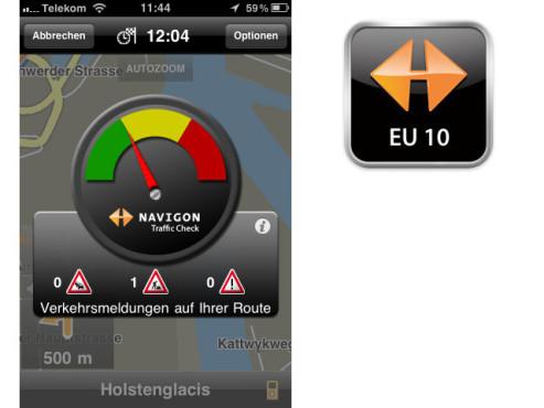 Navigon Mobile Navigator EU 10 ©Navigon AG