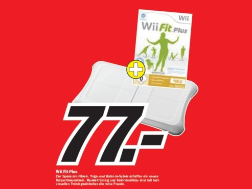 Nintendo Wii Fit Plus © Media Markt