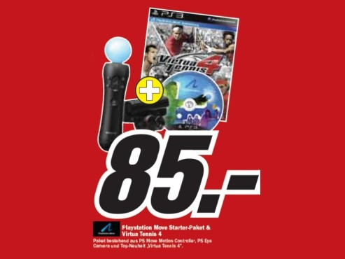 Sony PS3 Move Starter Pack © Media Markt