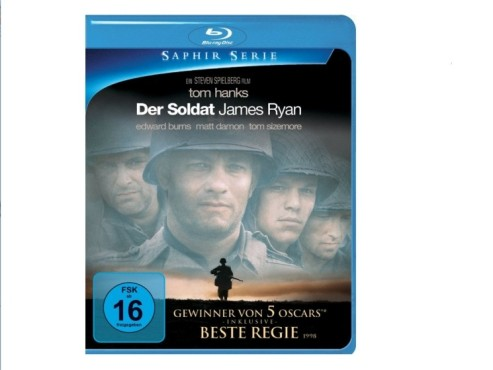 Blu-ray: Der Soldat James Ryan © Paramount Home Entertainment